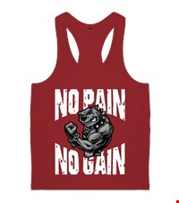 NO PAIN NO GAIN Erkek Body Gym Atlet bodybuilding,fitness,gym,vucut gelistirme,supplement,trainer,body,bilek guresi,armwrestlink,spor,antrenman,protein, 18021017002937551452016058-