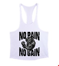 NO PAIN NO GAIN Erkek Tank Top Atlet bodybuilding,fitness,gym,vucut gelistirme,supplement,trainer,body,bilek guresi,armwrestlink,spor,antrenman,protein, 18021017311537551452018005-