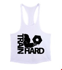 TRAIN HARD Erkek Tank Top Atlet bodybuilding,fitness,gym,vucut gelistirme,supplement,trainer,body,bilek guresi,armwrestlink,spor,antrenman,protein, 18021118474637551452018707-