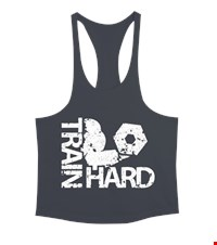 TRAIN HARD Erkek Tank Top Atlet bodybuilding,fitness,gym,vucut gelistirme,supplement,trainer,body,bilek guresi,armwrestlink,spor,antrenman,protein, 18021118490337551452016152-