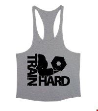 TRAIN HARD Erkek Tank Top Atlet bodybuilding,fitness,gym,vucut gelistirme,supplement,trainer,body,bilek guresi,armwrestlink,spor,antrenman,protein, 18021118513437551452019497-