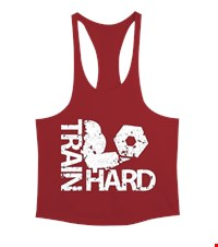 TRAIN HARD Erkek Tank Top Atlet bodybuilding,fitness,gym,vucut gelistirme,supplement,trainer,body,bilek guresi,armwrestlink,spor,antrenman,protein, 18021118541337551452013678-