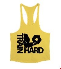 TRAIN HARD Erkek Tank Top Atlet bodybuilding,fitness,gym,vucut gelistirme,supplement,trainer,body,bilek guresi,armwrestlink,spor,antrenman,protein, 18021118564337551452011876-