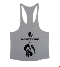 HARD CORE Erkek Tank Top Atlet bodybuilding,fitness,gym,vucut gelistirme,supplement,trainer,body,bilek guresi,armwrestlink,spor,antrenman,protein, 18022001030237551452012840-