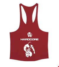 HARD CORE Erkek Tank Top Atlet bodybuilding,fitness,gym,vucut gelistirme,supplement,trainer,body,bilek guresi,armwrestlink,spor,antrenman,protein, 18022001052837551452012664-