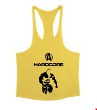HARD CORE Erkek Tank Top Atlet bodybuilding,fitness,gym,vucut gelistirme,supplement,trainer,body,bilek guresi,armwrestlink,spor,antrenman,protein, 18022001070337551452011846-