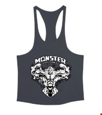 MONSTER Erkek Tank Top Atlet bodybuilding,fitness,gym,vucut gelistirme,supplement,trainer,body,bilek guresi,armwrestlink,spor,antrenman,protein, 18022022491837551452011734-