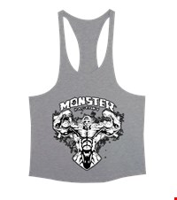 MONSTER Erkek Tank Top Atlet bodybuilding,fitness,gym,vucut gelistirme,supplement,trainer,body,bilek guresi,armwrestlink,spor,antrenman,protein, 18022022525737551452015000-