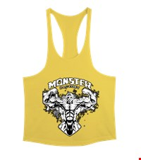 MONSTER Erkek Tank Top Atlet bodybuilding,fitness,gym,vucut gelistirme,supplement,trainer,body,bilek guresi,armwrestlink,spor,antrenman,protein, 18022022573737551452017097-