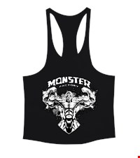 MONSTER Erkek Tank Top Atlet bodybuilding,fitness,gym,vucut gelistirme,supplement,trainer,body,bilek guresi,armwrestlink,spor,antrenman,protein, 18022022593637551452011453-