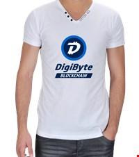 DigiByte Erkek Fashion DigiByte blockchain logolu erkek fashion t-shirt 18070722482794542101393866-
