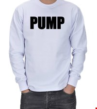PUMP ERKEK SWEATSHIRT bodybuilding,fitness,vucutgelistirme,gym,supplement,fit,spor, 18110303220137551452011607-