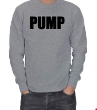PUMP ERKEK SWEATSHIRT bodybuilding,fitness,vucutgelistirme,gym,supplement,fit,spor, 18110303253737551452015981-